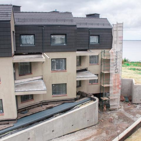 apartamenty katamarany zatoka z widokiem na morze