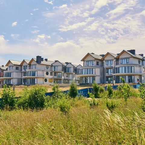 apartamenty katamarany zatoka na sprzedaż z widokiem na morze