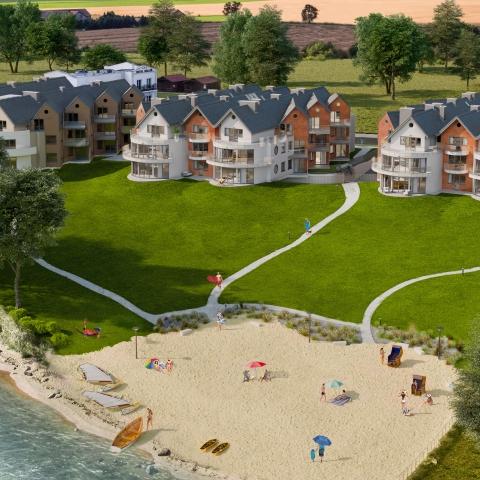 apartamenty z widokiem na morze